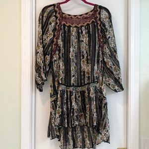 Free People mini dress/tunic. Brand new with tags.